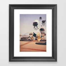 Fear And Loathing On Tat… Framed Art Print