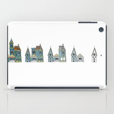 Sub(tract) housing in blue iPad Case
