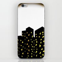 City People Dont Turn Ou… iPhone & iPod Skin