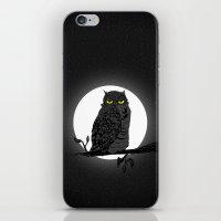 Night Owl V. 2 iPhone & iPod Skin