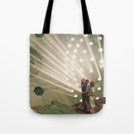 The Light Pours Out Of M… Tote Bag