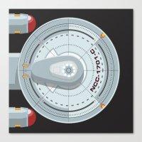 Enterprise - Star Trek Canvas Print