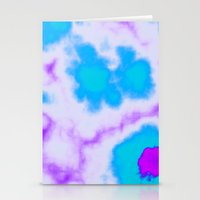 Splattered Sky Stationery Cards