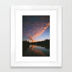 Idaho Sunrise Framed Art Print
