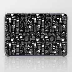 Pattern Project #8 / Things (black) iPad Case