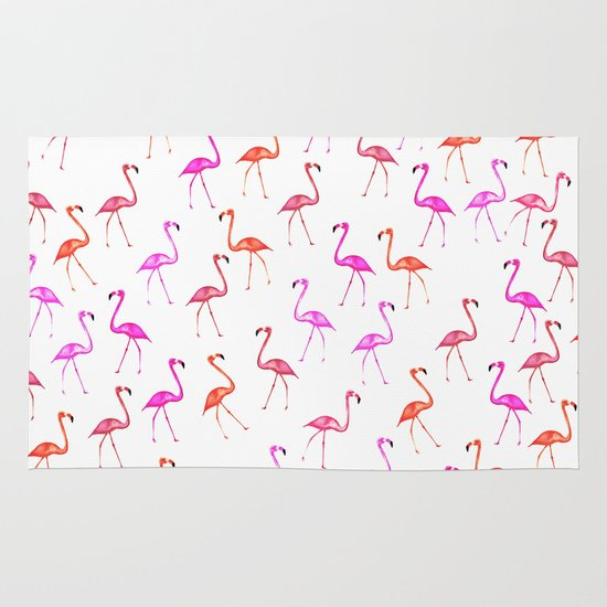 FLAMINGoS Area & Throw Rug