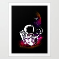 Spaceborne! Art Print