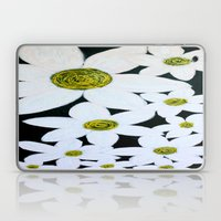 Daisies at Night Laptop & iPad Skin