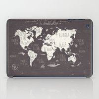 The World Map iPad Case