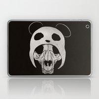 Panda Skull Laptop & iPad Skin