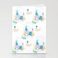 Fruiti Tutti. Fruit, Ill… Stationery Cards