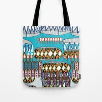 geometric number 6 Tote Bag