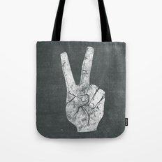 Peacefingers Tote Bag