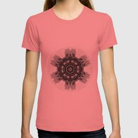 Blithewood Womens Fitted Tee Pomegranate SMALL