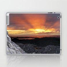 Sunset on the Rocks Laptop & iPad Skin