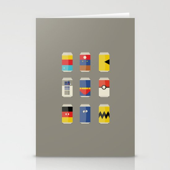 Pop Culture Stationery Card