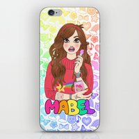Maybe It's Mabel iPhone & iPod Skin