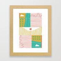 Eye On The City Framed Art Print