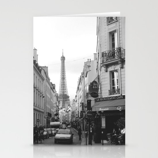 Rue St Dominique Stationery Card