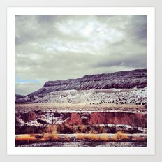 FOUR CORNERS Art Print