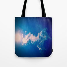 When the sun meets the cloud Tote Bag