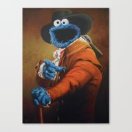 Monster Ducookie Canvas Print