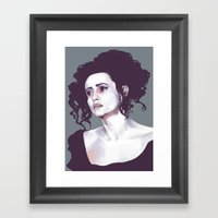 Helena Bonham Carter (Sweeney Todd) Framed Art Print
