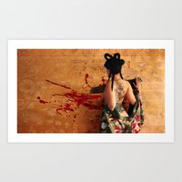 Dragon Place, Future Tig… Art Print