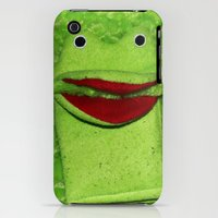 iPhone 3Gs & iPhone 3G Cases featuring Froggy by kradazhan