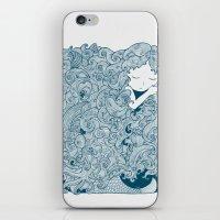 Mermaid Dreams iPhone & iPod Skin