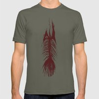 The Fishy Eskeleto Mens Fitted Tee Lieutenant SMALL
