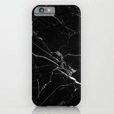 Black Marble iPhone 6s Slim Case
