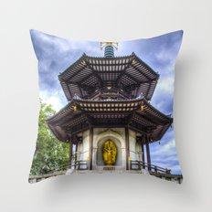 The Pagoda Throw Pillow