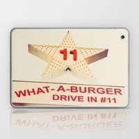 What A Burger Laptop & iPad Skin