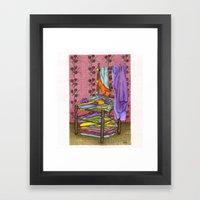 The Closet Framed Art Print