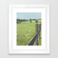 Wondering Road  Framed Art Print