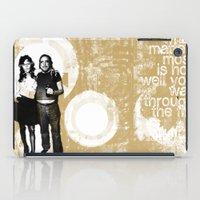 Walking Through Fire... iPad Case