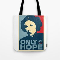 Leia's Only Hope Tote Bag