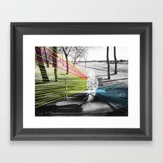 Benched Framed Art Print
