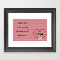 Always Have, Always Will Framed Art Print