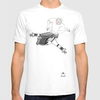 Farewell Time Mens Fitted Tee White SMALL
