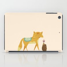 The Fox and the Hedgehog iPad Case