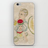 Melon, Watermelon And Le… iPhone & iPod Skin