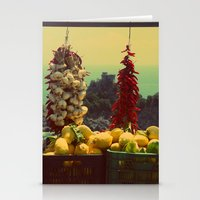 Garlic, Peppers & Lemons… Stationery Cards