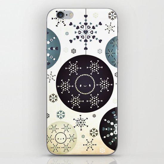 Snowflakes Part Deux iPhone & iPod Skin