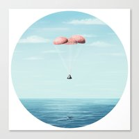 Splashdown Canvas Print