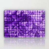 Purple Satin Weave Effec… Laptop & iPad Skin