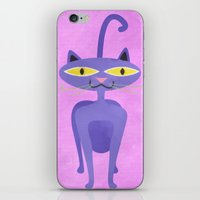 The Tiki Cat iPhone & iPod Skin
