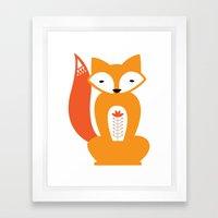 Ferdinand the Fox Framed Art Print