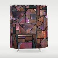 Kaku Nebula Shower Curtain